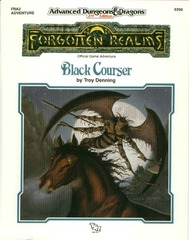 AD&D 2e FRA2 - Black Courser 9290