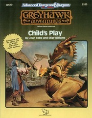 AD&D(2e) WG10 - Child's Play 9265