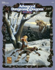AD&D(2E) HHQ4 - Cleric's Challenge 9429