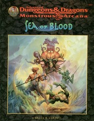AD&D(2E) Monstrous Arcana - Sea of Blood 9560