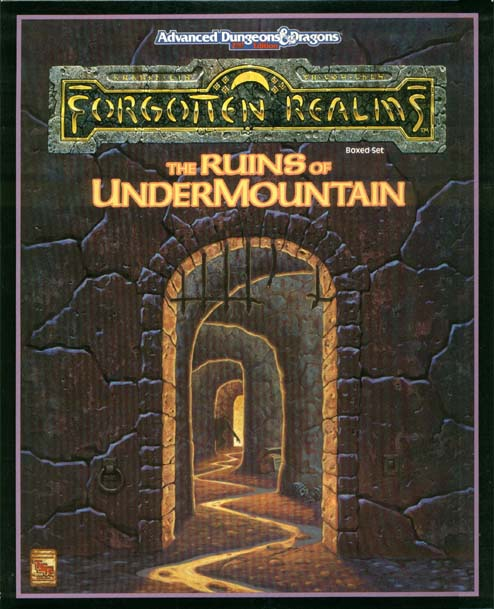 AD&D(2e) - Ruins of Undermountain 1060 Box Set