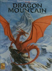 AD&D 2E - Dragon Mountain Boxed Set 1089