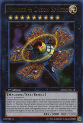 Number 9: Dyson Sphere - ABYR-EN044 - Ultra Rare - Unlimited Edition