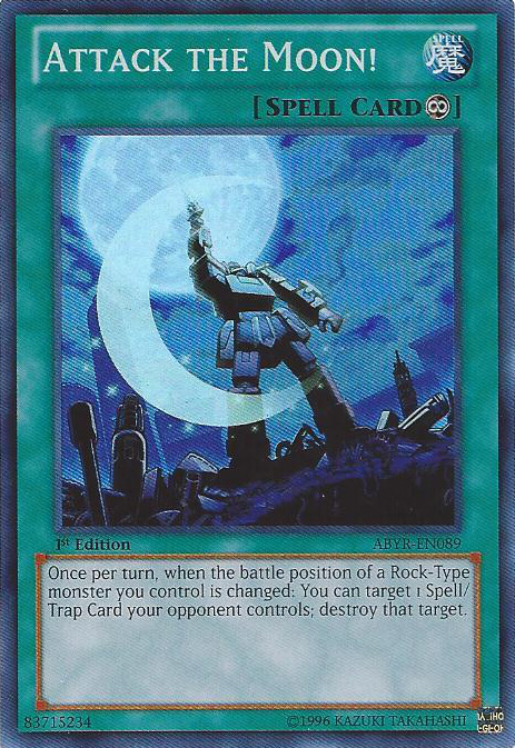 Attack the Moon! - ABYR-EN089 - Super Rare - Unlimited Edition
