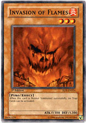 Invasion of Flames - RDS-EN024 - Common - 1st Edition