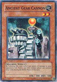 Ancient Gear Cannon - SOI-EN009 - Common - 1st Edition