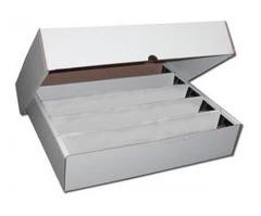 Cardboard Box 5000 card with Lid