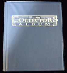 Ultra Pro 9 Pocket Collectors Album - Blue