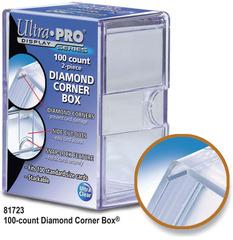 Ultra Pro 100 Count 2-Piece Diamond Corner Box
