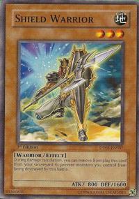 Shield Warrior - DP08-EN007 - Common - 1st Edition