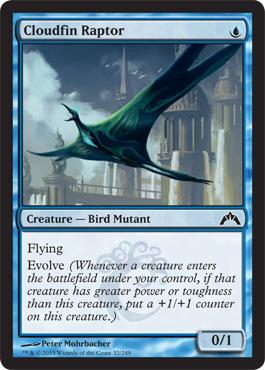 Cloudfin Raptor - Foil