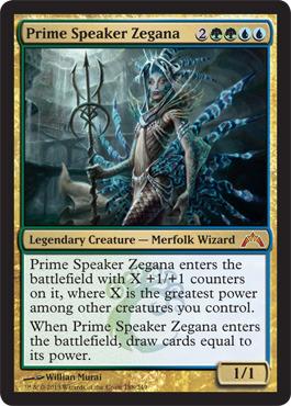 Prime Speaker Zegana - Foil