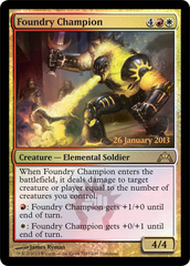 Foundry Champion - Foil - Prerelease Promo