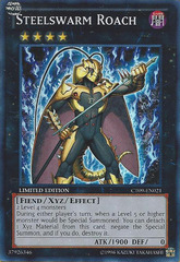 Steelswarm Roach - CT09-EN021 - Super Rare - Limited Edition on Channel Fireball