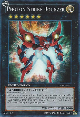Photon Strike Bounzer - CT09-EN022 - Super Rare - Limited
