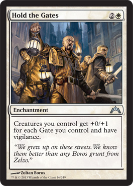 Hold the Gates - Foil