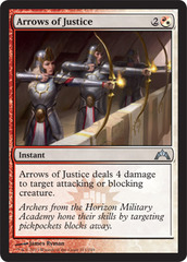 Arrows of Justice - Foil on Channel Fireball