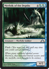Merfolk of the Depths - Foil