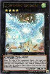 Lightning Chidori - CBLZ-EN052 - Ultra Rare - 1st Edition on Channel Fireball
