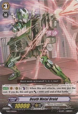 Death Metal Droid - TD03/002EN