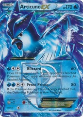 Articuno-EX - 25/135 - Holo Rare ex on Channel Fireball