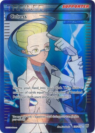 Colress - 135/135 - Full Art Ultra Rare