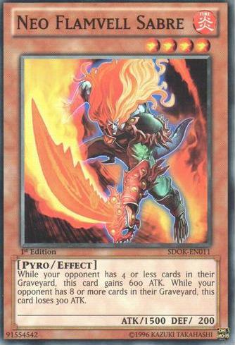 SDOK-EN009 1st FLAMVELL FIREDOG - - Common Yu-Gi-Oh