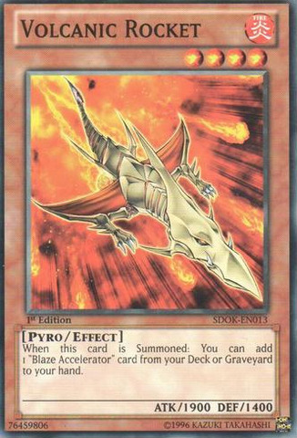 Volcanic Rocket Common SDOK-EN013 1st Edition NM