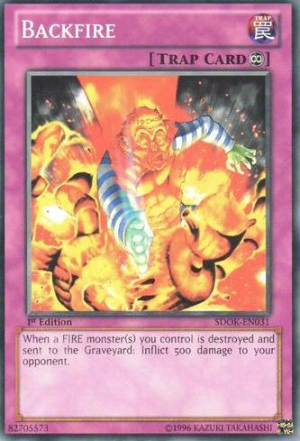 Backfire - SDOK-EN031 - Common - 1st Edition