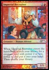 Imperial Recruiter - Foil DCI Judge Promo on Channel Fireball