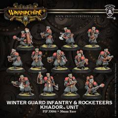 Winter Guard Infantry Unit with Three Weapon Attachments