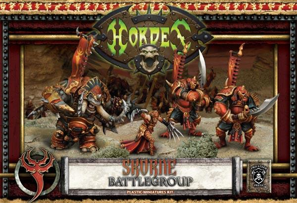 Skorne Battlegroup Starter (plastic)