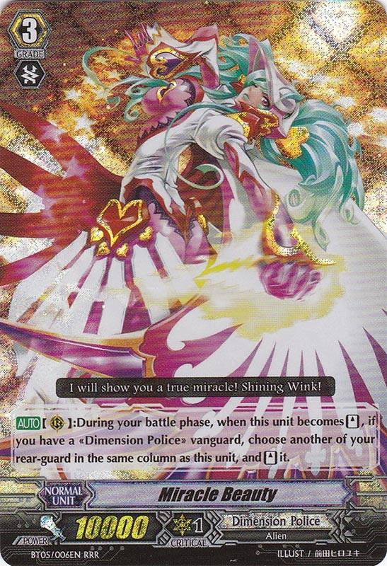 Miracle Beauty - BT05/006EN - RRR