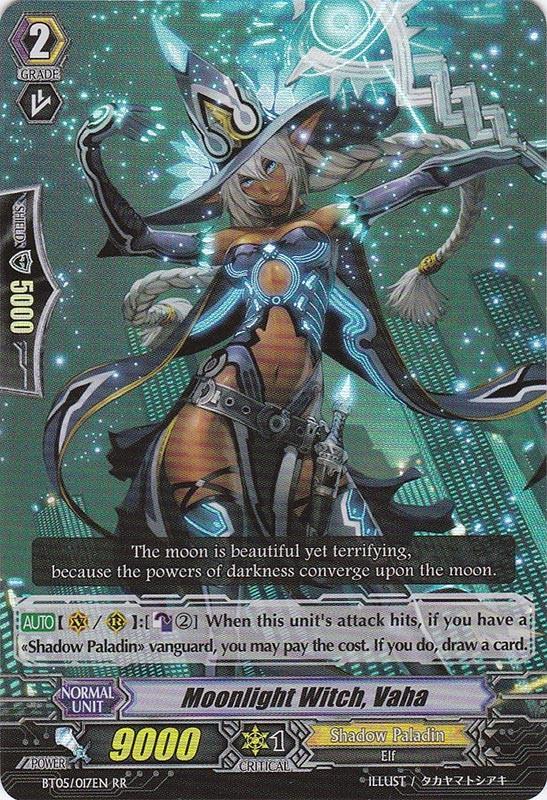 Moonlight Witch, Vaha - BT05/017EN - RR