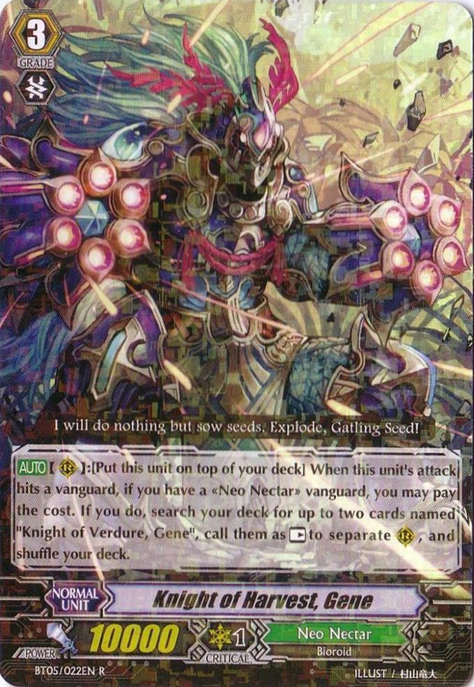 Knight of Harvest, Gene - BT05/022EN - R