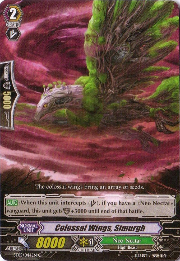 Colossal Wings, Simorgh - BT05/044EN - C