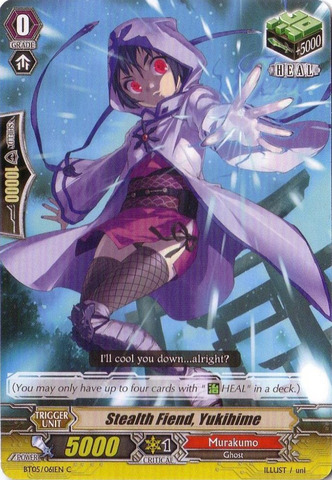 Stealth Fiend, Yukihime - BT05/061EN - C
