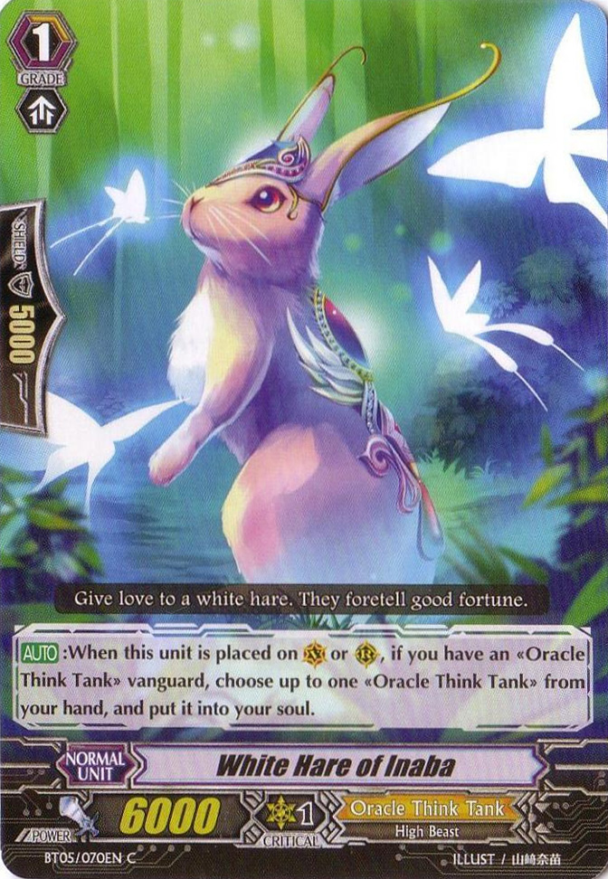 White Rabbit of Inaba - BT05/070EN - C