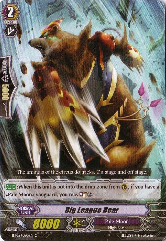 Big League Bear - BT05/080EN - C