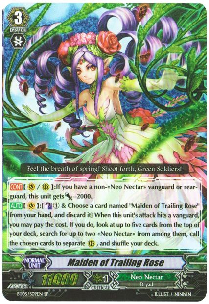 Maiden of Trailing Rose - BT05/S09EN - SP