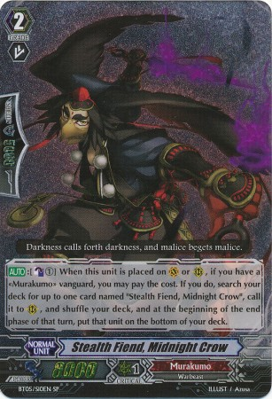 Stealth Fiend, Midnight Crow - BT05/S10EN - SP