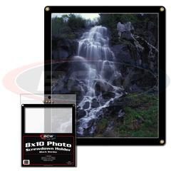 8 X 10 Photo Screwdown Holder - Black Border