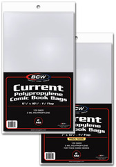 Current Comic Book Bags - Thick Comics