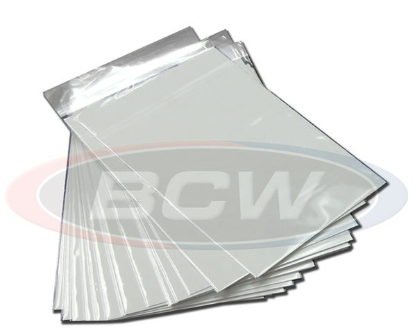 BCW Premade Current Bags & Boards - Pack of 50