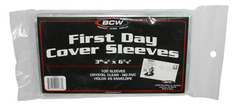 First Day Cover Sleeves - Pack of 100