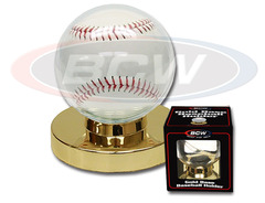 Gold Base Baseball Holder