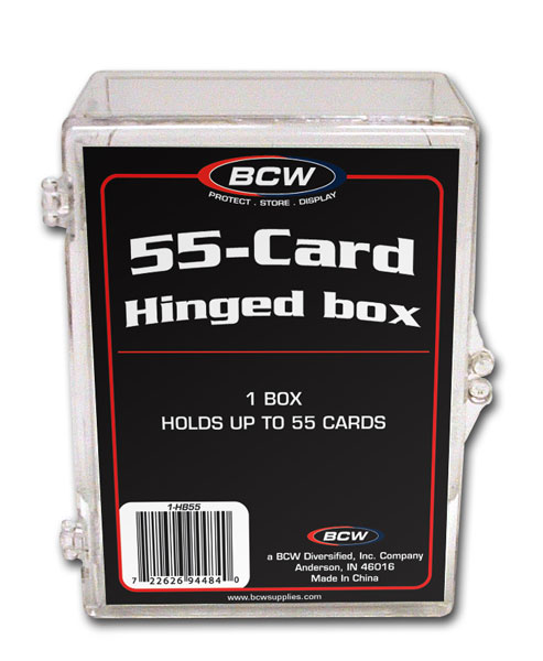 BCW Hinged Box - 55 Count