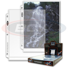 Pro 8 X 10 Photo Pages - Box of 100