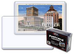5.875 x 3.75 - Postcard Topload Holder - Pack of 25