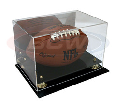 BCW Deluxe Acrylic Football  Display - With Mirror Back - 1-AD04
